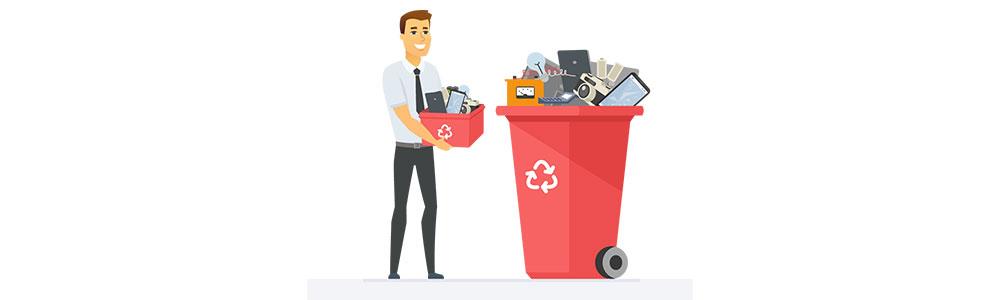 Creating awareness among consumers regarding scientific disposal of E-waste